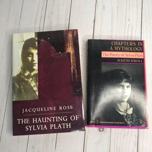Sylvia Plath Lot of Two Books